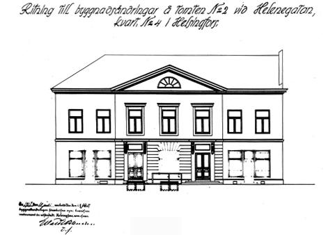 Baldrin talo 1800 luvulla